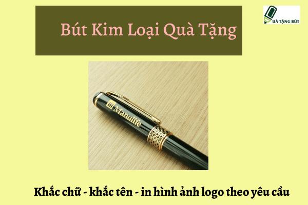 bút kim loại quà tặng